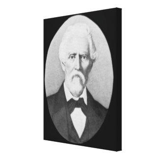Samuel A. Maverick (1803-70) (b/w Foto) Leinwanddrucke