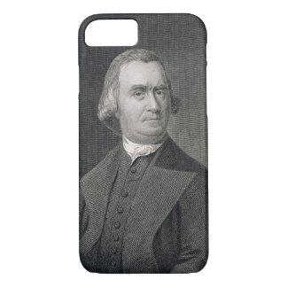 Samuel Adams, graviert von G.F. Storm (fl.c.1834) iPhone 8/7 Hülle