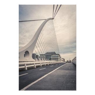 Samuel Beckett Brige Fotodruck