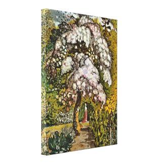 Samuel Palmer - Garten in Shoreham Galerie Falt Leinwand