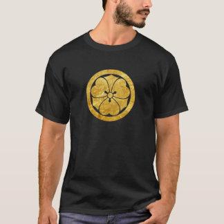 Samuraiclan-Imitatgold Sakais Montag japanisches T-Shirt