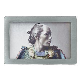 Samurais Rechteckige Gürtelschnallen
