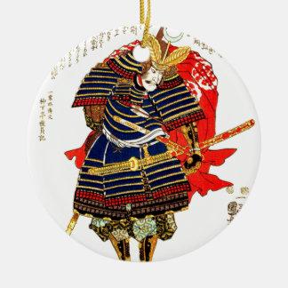 Samurais - Utagawa Kuniyoshi 歌川国芳 Keramik Ornament
