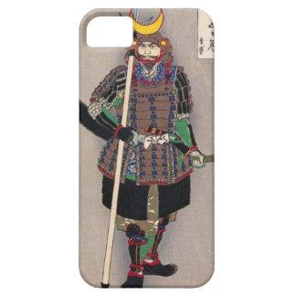 Samurais Yukimori 山中幸盛 durch Yoshitoshi 月岡芳年 iPhone 5 Etui
