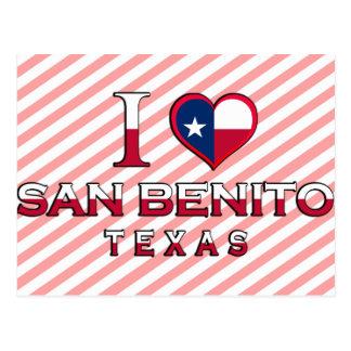 San Benito, Texas Postkarte