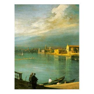 San Cristoforo, San Michele u. Murano durch Postkarte