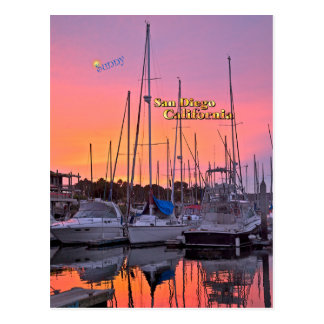 San Diego Hafen Postkarte