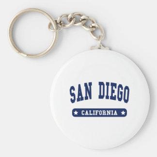 San Diego Kalifornien Uni-Artt-shirts Schlüsselanhänger
