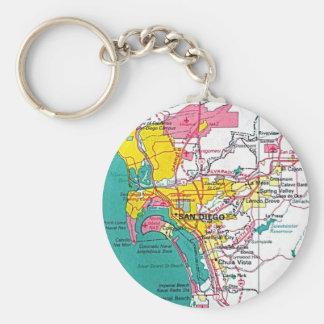 San Diego Keychain Schlüsselanhänger