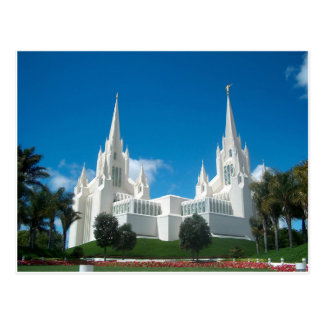 San Diego LDS Tempel Postkarte