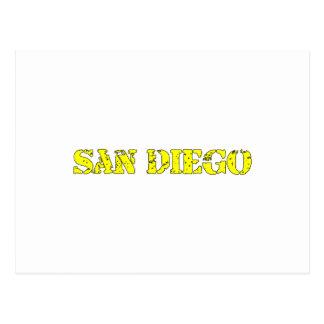 San Diego Postkarte