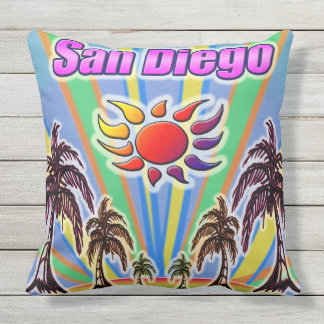 San Diego Sommer-Liebe-Kissen Kissen