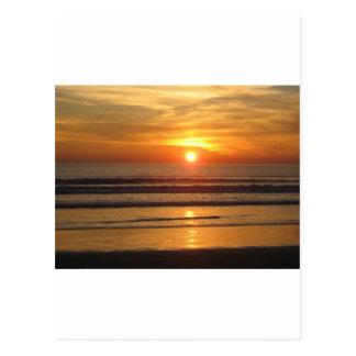 San Diego Sonnenuntergang 2 Postkarte