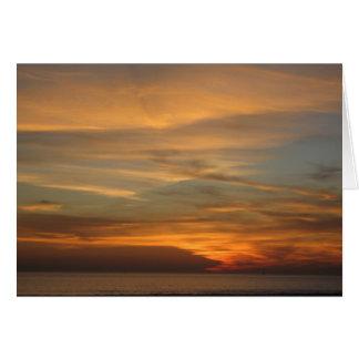 San Diego Sonnenuntergang Karte