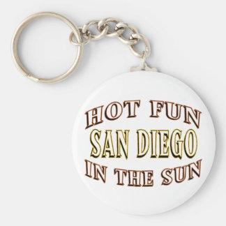 San Diego Spaß Schlüsselanhänger