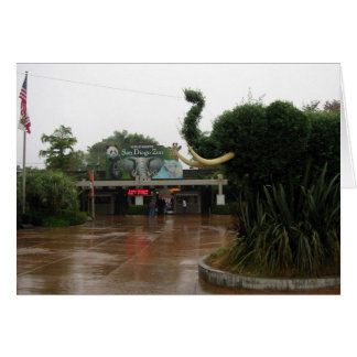 San Diego Zoo Karte
