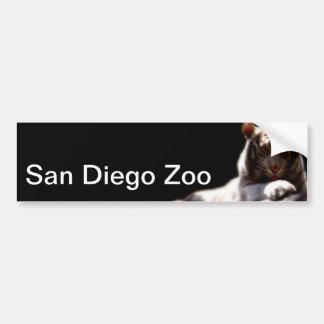 San Diego Zoo-Tiger Autoaufkleber