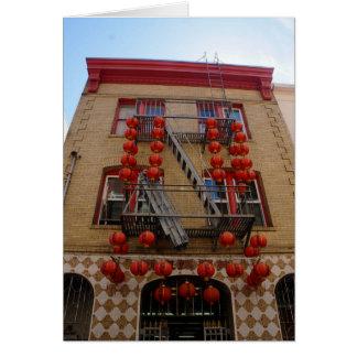 San Francisco Chinatown Tempel iPhone 8/7 Fall Karte