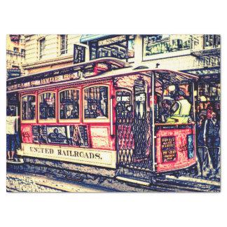 San Francisco, Drahtseilbahn Seidenpapier