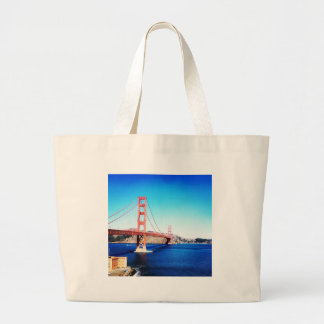 San Francisco Golden gate bridge Kalifornien Jumbo Stoffbeutel