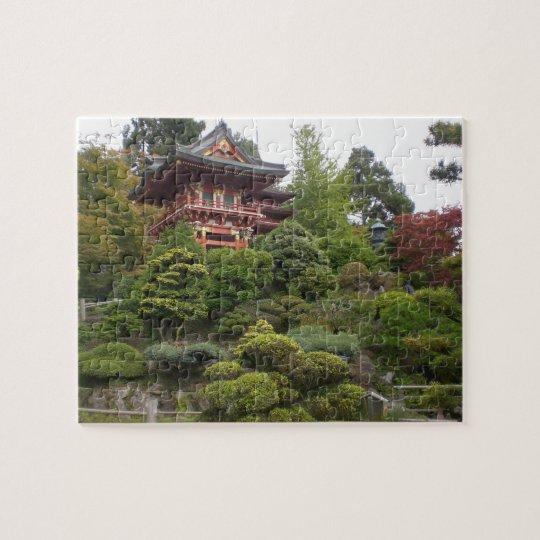 San Francisco japanisches Tee-Garten-Puzzle