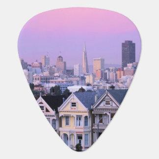 San Francisco, Kalifornien. Ansicht von Plektrum