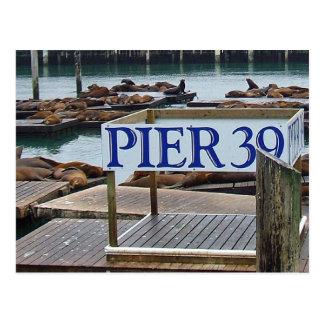 San Francisco Postkarte des Pier-39