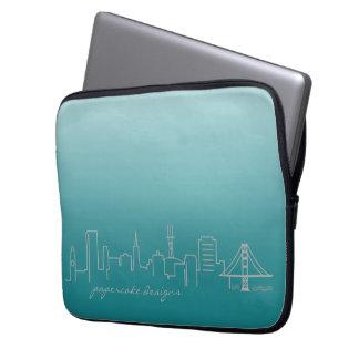 San Francisco Skyline-Laptop-Hülse 13 Zoll Laptopschutzhülle