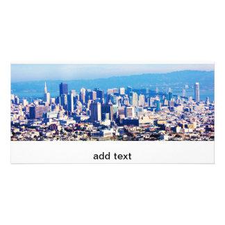 San Francisco Stadt-Ansicht panoramisch Karte