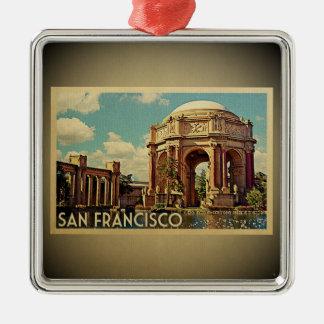San Francisco Verzierungs-Palast-feine Künste Silbernes Ornament