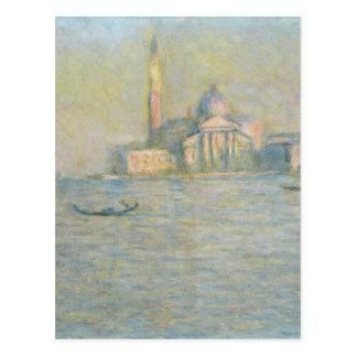 San Giorgio Maggiore 3 durch Claude Monet Postkarte