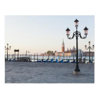 San Giorgio Maggiore angesehen von Riva degli 2 Postkarte