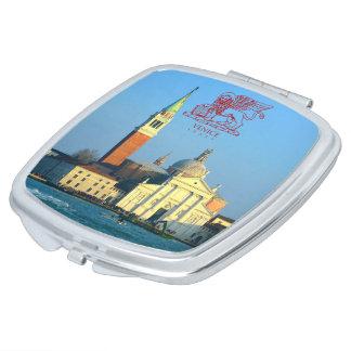 San Giorgio Maggiore von Venedig Taschenspiegel