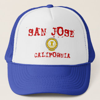 San Jose Hut-/Sombrerode San Jose Truckerkappe