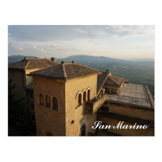 San Marino Postkarte