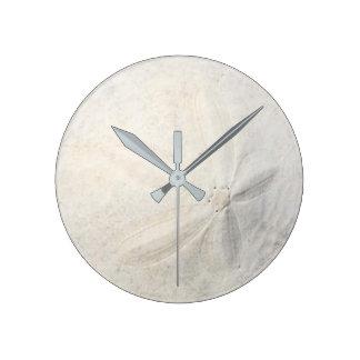 Sand-Dollar Runde Wanduhr