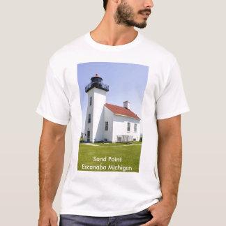 Sand-Punkt-Leuchtturm-T - Shirt