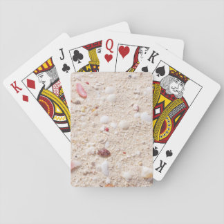 Sand und Muscheln Spielkarten