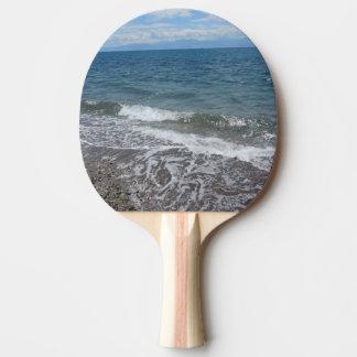 Sand-und Ozean-Wellen Tischtennis Schläger