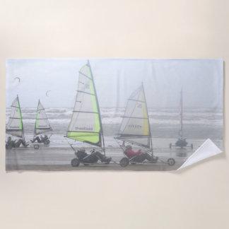 Sand-Yachting Gruppen-Badetuch Strandtuch