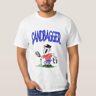 SandBagger-Wert-Hufeisen-T-Stück T-Shirt