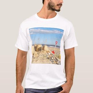 Sandcastle am Strand T-Shirt