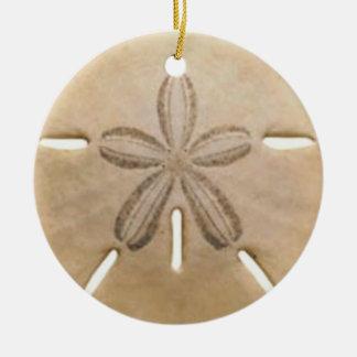 Sanddollar Rundes Keramik Ornament