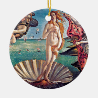 Sandro Botticelli - Geburt von Venus - schöne Keramik Ornament