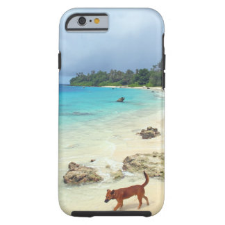 Sandstrand der tropischen Insel des Paradieses Tough iPhone 6 Hülle