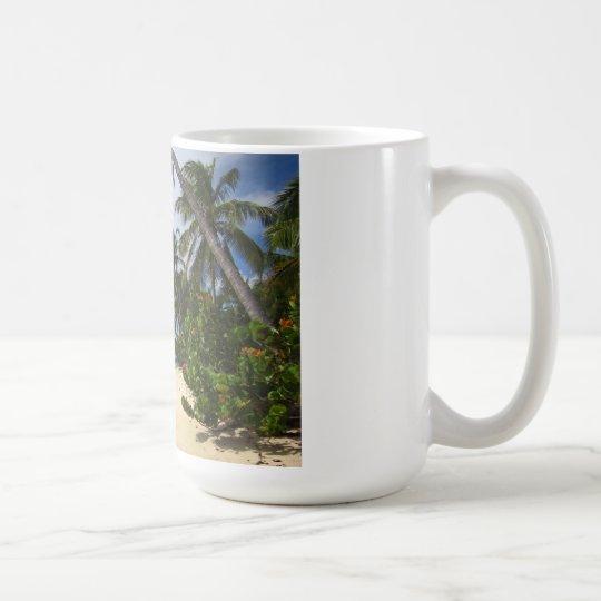Sandy-Insel-Schale Tasse