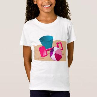 Sandy-Strände - Mädchen T-Shirt
