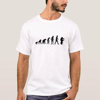 Sänger sind Evolutions-Spitze T-Shirt