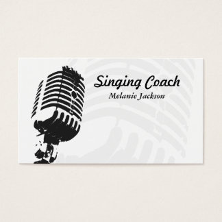 Sänger Visitenkarte