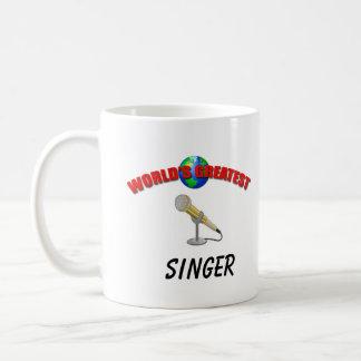 Sänger-weltbeste Tasse